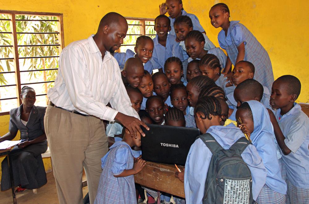 A Laptop for Destiny Garden School