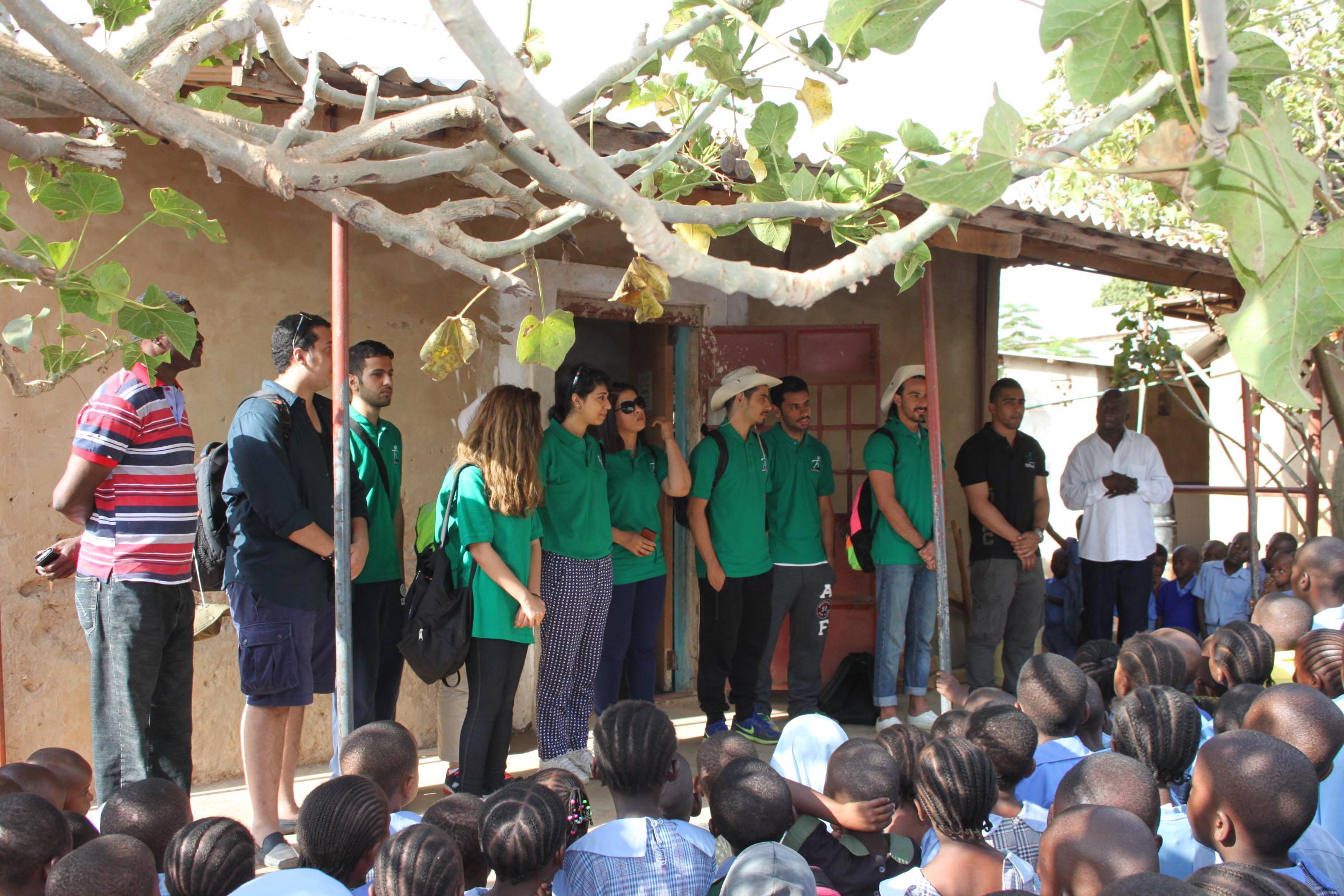 Kuwait 4 Kenya Volunteers