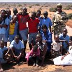 DGS pupils at the famous Mudanda rock