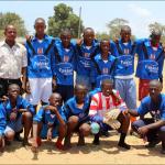 Boys football team 2015