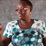 Guest of Honour -Mrs Ada Obura