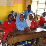 joyful pupils
