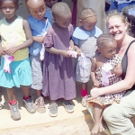 Amy with DGS Children