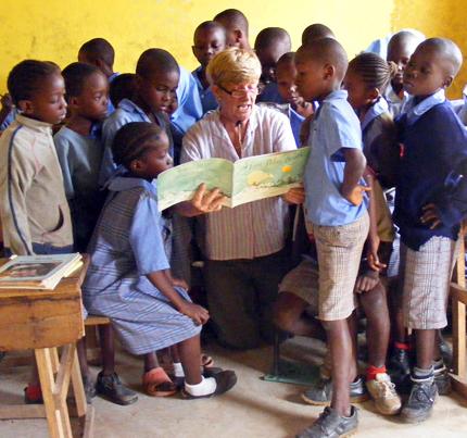 Anne with DGS children