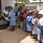 Celebration Lunch for the Children at DGS