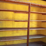 Staffroom shelves