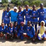 Girls football team 2015