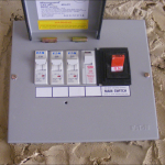 The fuse box