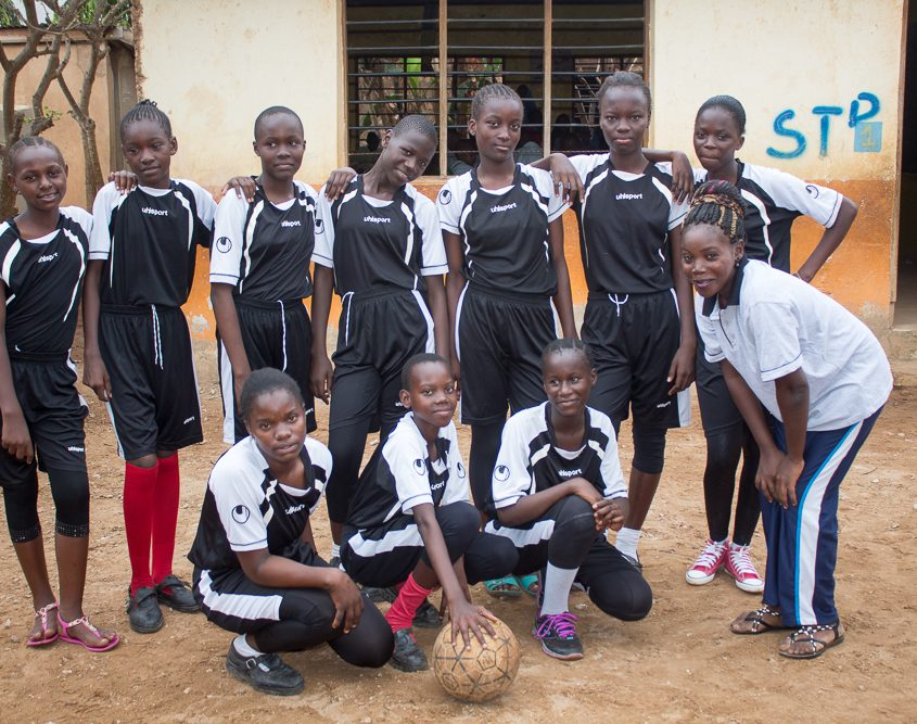 Girls' Volleyball Team