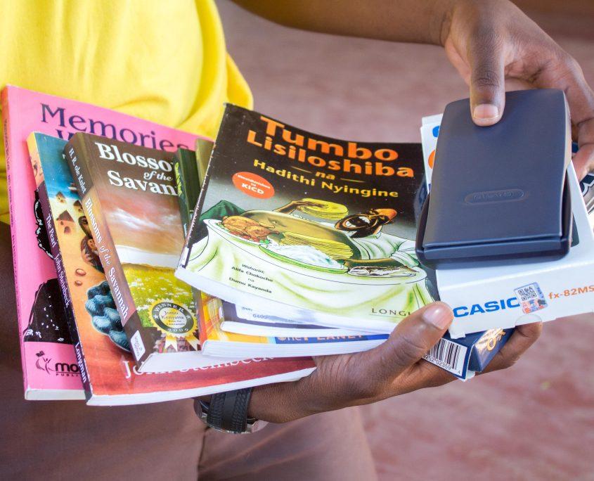 George's new textbooks